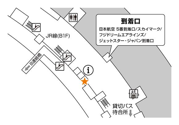 新千歳空港 国内線1階JAL側到着ロビー